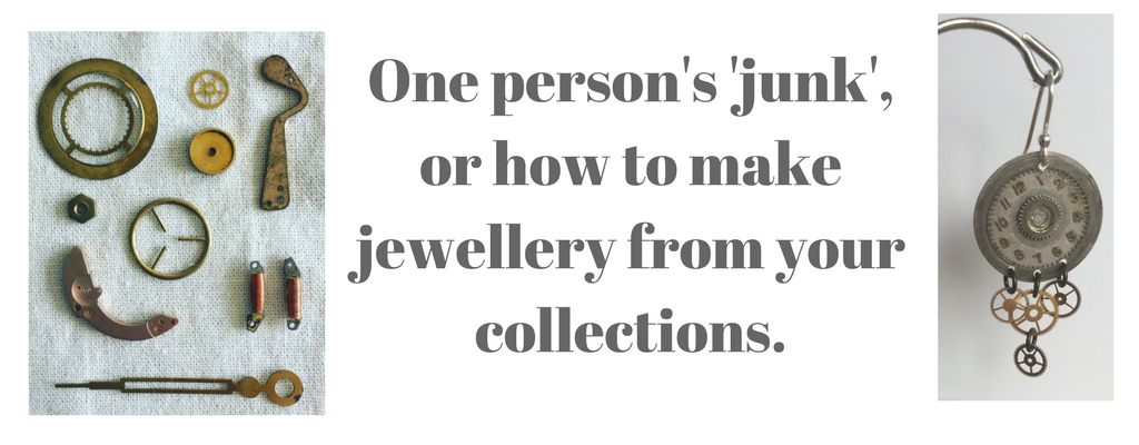 How to make jewellery from your random collections