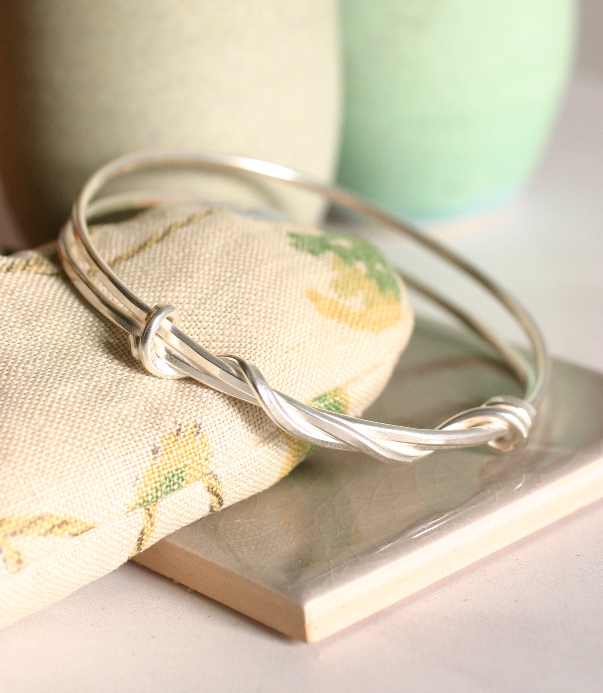 double knot bangle