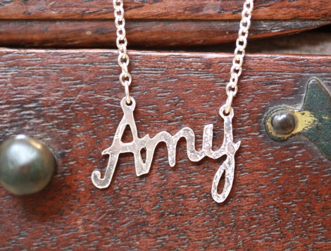 personalised name necklace (up to 4 letters)
